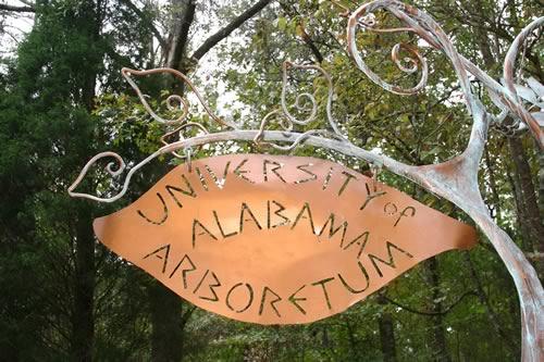 UA Arboretum Sign