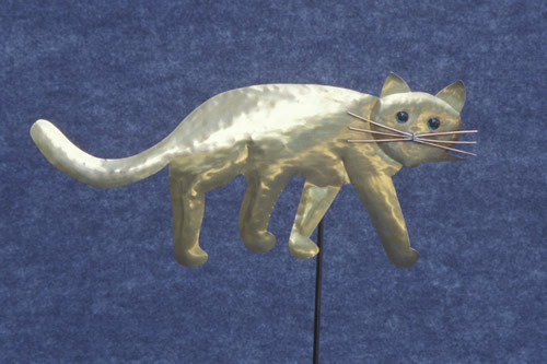 brass-cat-weathervane