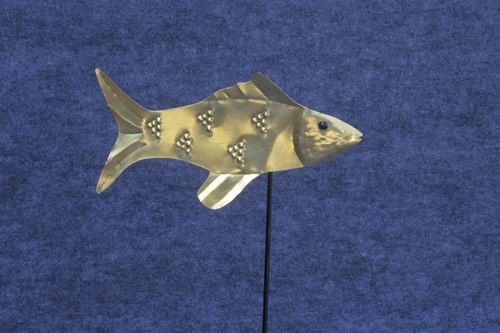 brass-fish-weathervane