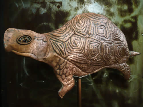 Chinese Box Turtle Weathervane