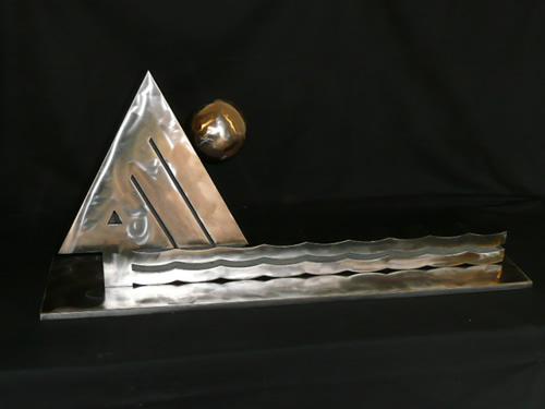 Corporate Logo Sculpture
