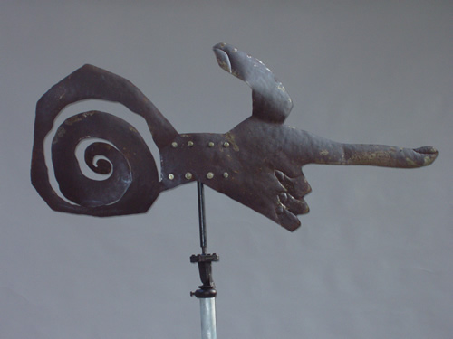 Finger of Fate Weathervane