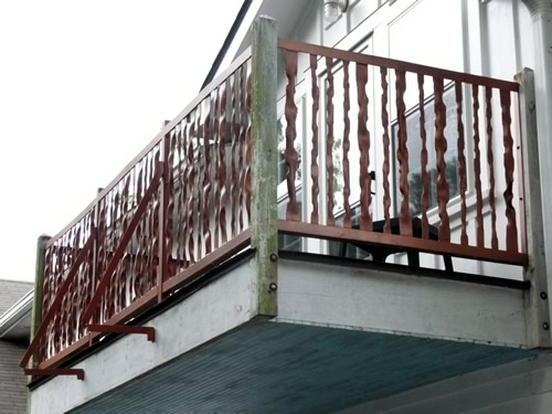 Hand Forged Balcony Railing