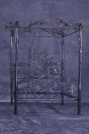 forged-bed-frame