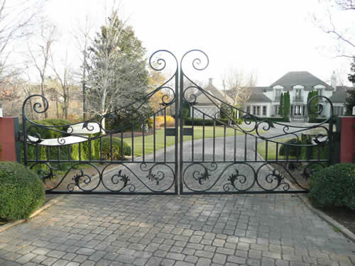 Forged Driveway Gate