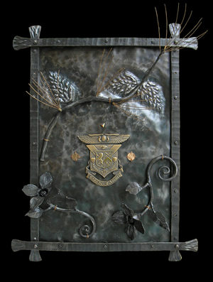 Fraternity Crest Plaque