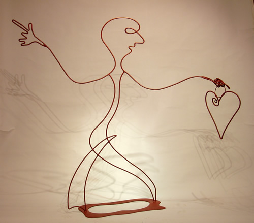 Dancing Man Sculpture