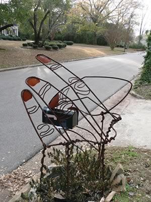 Curbside Mailbox Sculpture