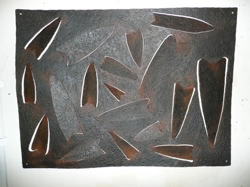 metal-clovis-point-wall-art