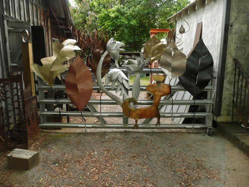Metal Jungle Gate