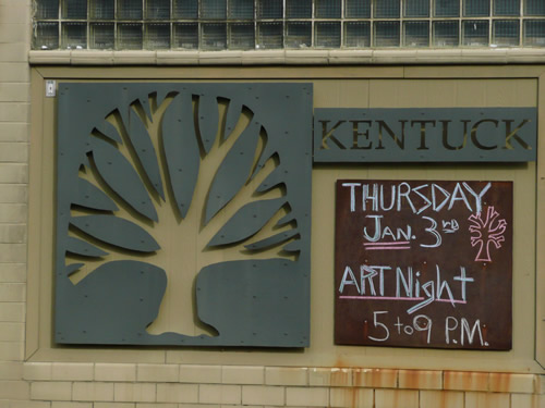 Kentuck Art Center Signage
