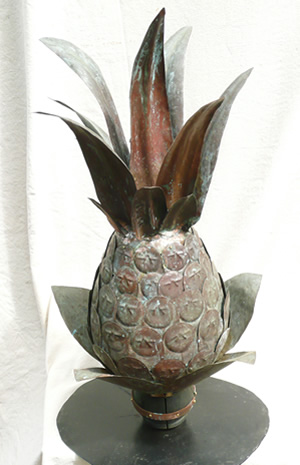 pineapple-finial