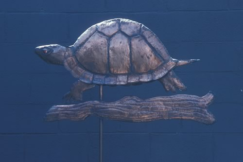 turtle-weathervane