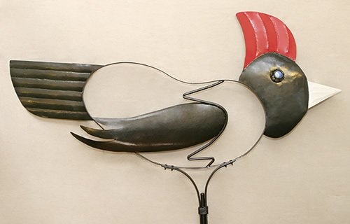 woodpecker-weathervane